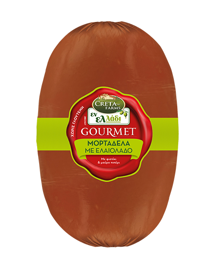 Εν Ελλάδι Gourmet μορταδέλα με ελαιόλαδο