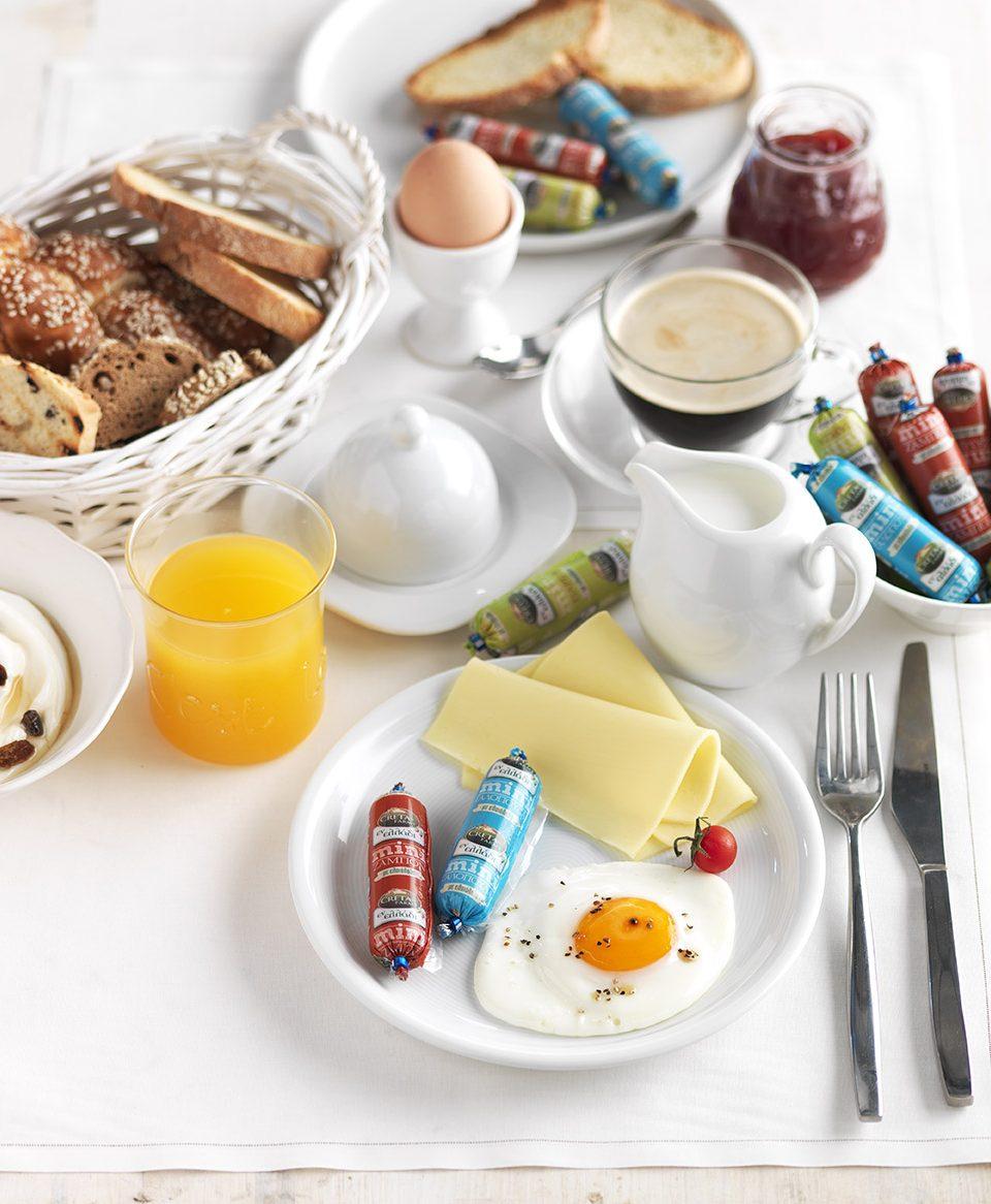 μίνι εν ελλάδι πρωινό