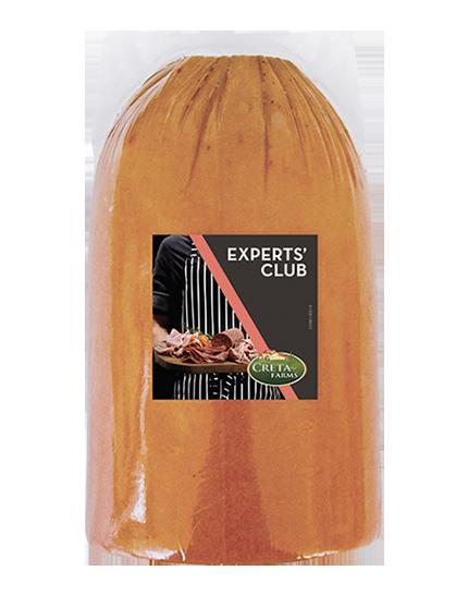 Experts Club γαλοπούλα ρολό Κρήτης Φ105 καπνιστή (από γαλοπούλα & κοτόπουλο)